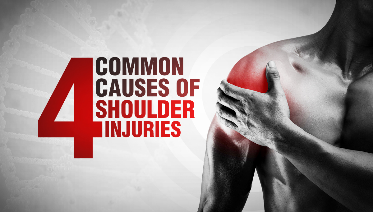 4 Common Causes of Shoulder Injuries